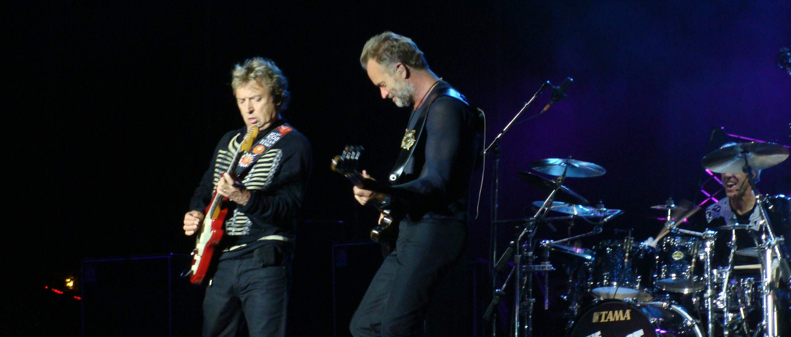 The Police at BBK Live 2008