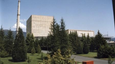 vista exterior de la central nuclear de Garoña