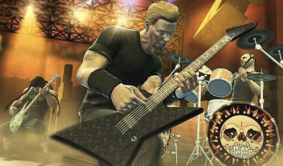James Hetfield en su versión tridimensional