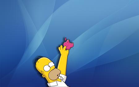 fondo Mac Homer Simpson.