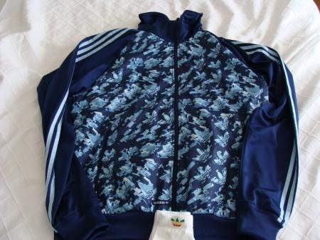Mi nueva chaqueta Adidas. Mola, ¿que no?