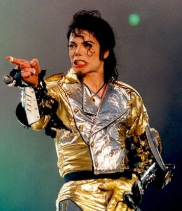 Michael Jackson en los años 90.