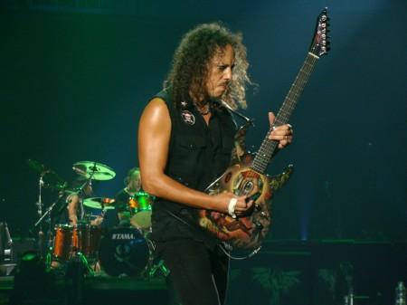 Kirk Hammett (Metallica) Julio 2009