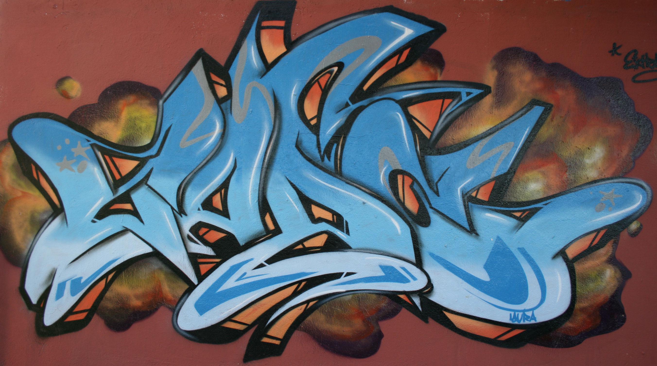 Voy a tirar mi primer bomba estoy feliz d taringa - Bombe de graffiti ...