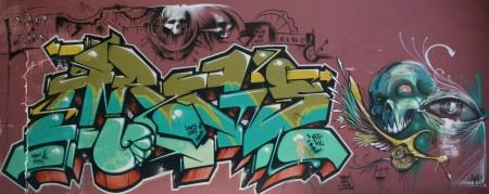 graffiti vitoria Gasteiz