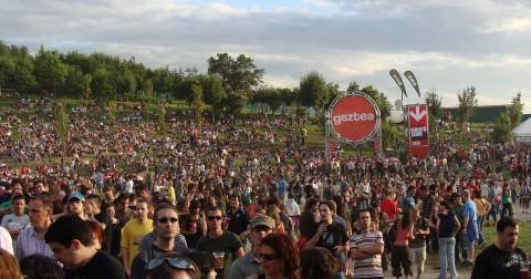 Gente en el BBK Live 2008.