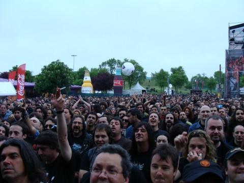 Gente en el BBK Live 2009