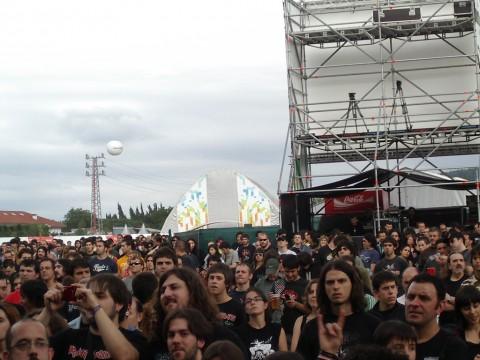 Gente en el BBK Live 2007