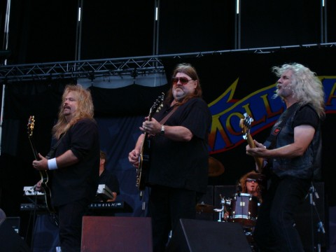 Molly Hatchet en el Azkena Rock festival de 2009