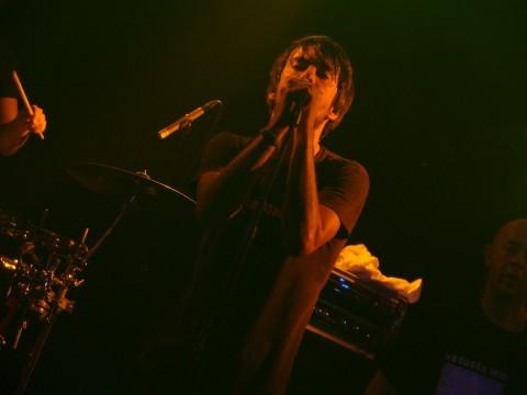Pucho (Vetusta Morla) en el concierto de Vitoria del 30 de Octubre