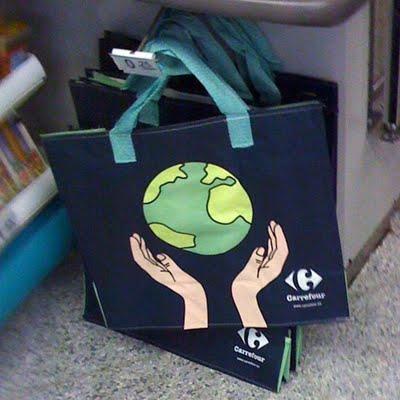 bolsa reutilizable de Carrefour