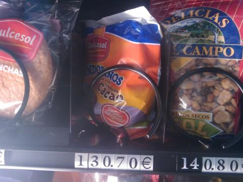 WTF? en una maquina de vending