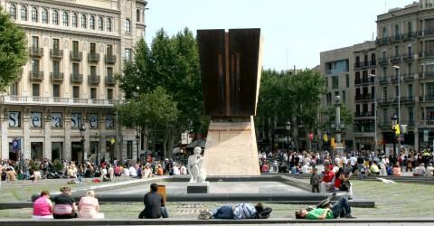 Plaça Catalunya 2008