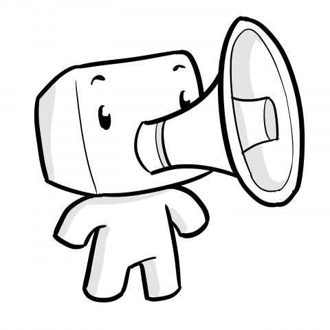 Pixelín, la mascota de Diario de un Pixel.