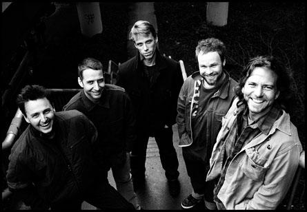 Pearl Jam en una foto de archivo
