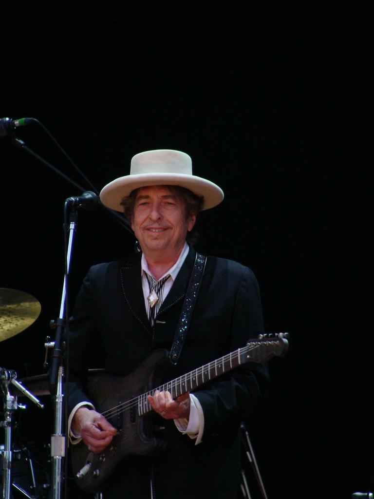 Bob Dylan Azkena Rock Festival 2010