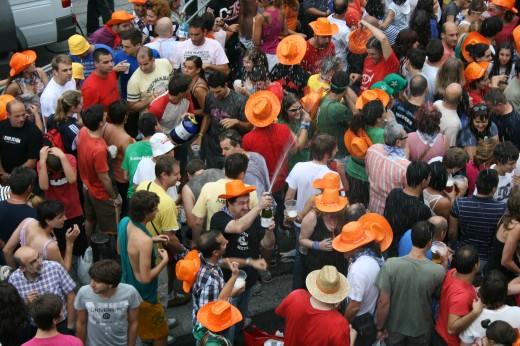Bajada de Celedon 2012