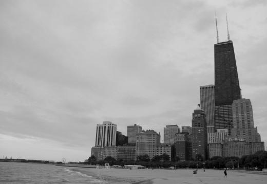 Skyline de Chicago desde Lake Shore Drive