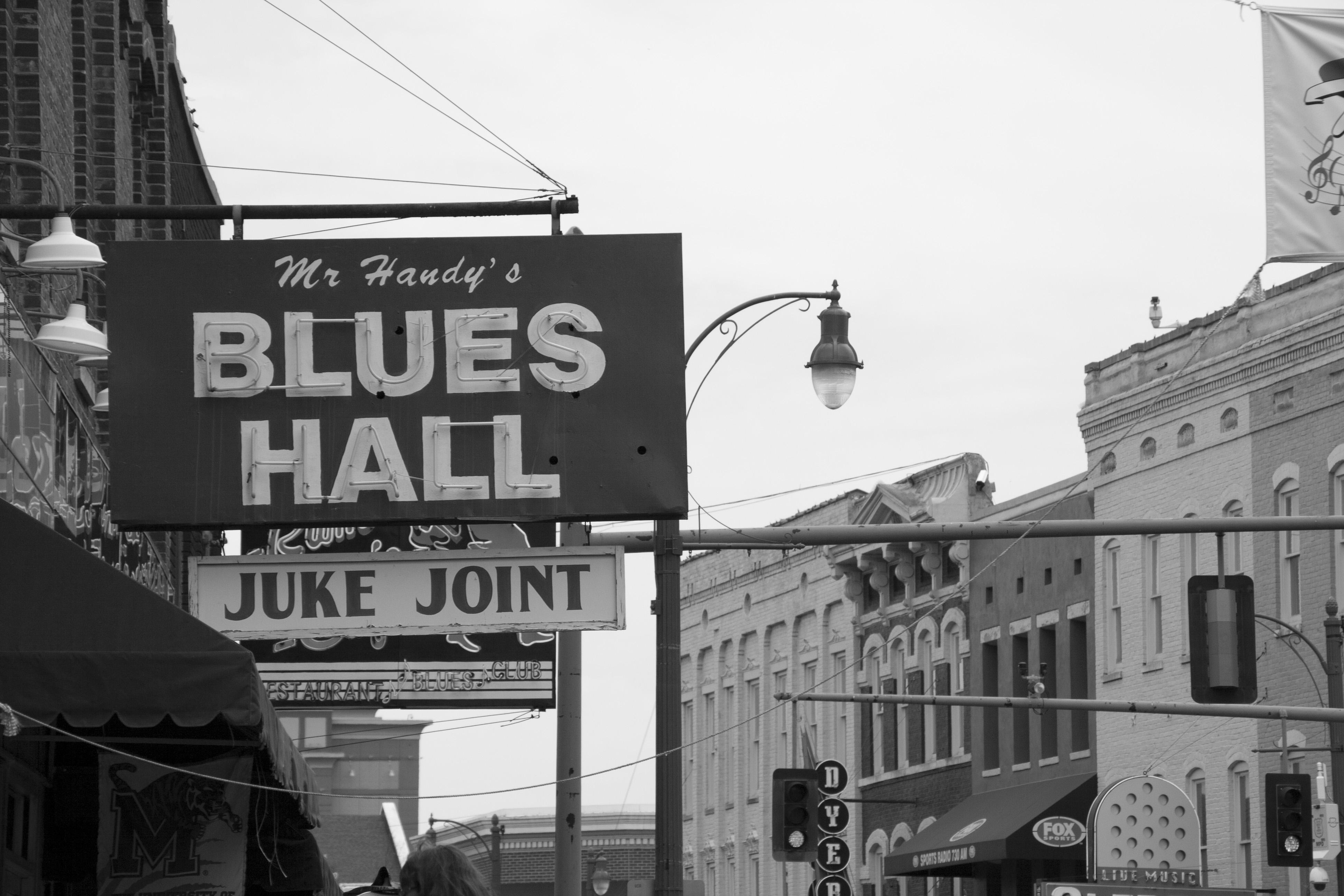 Juke Joint en Beale Street, en Memphis, Tennessee.